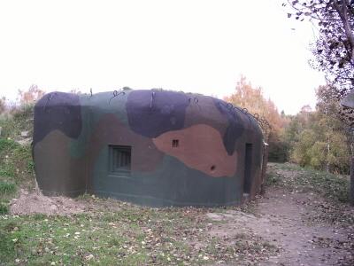 Bunkr Řopík na Kočičáku u Chomutova.