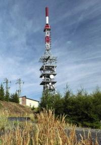 Televizní vysílač na Jedláku - ilustrační foto